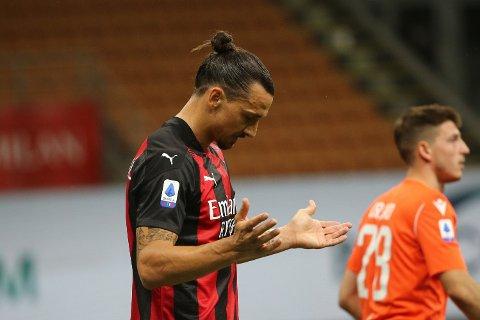 UTE: Zlatan går glipp av torsdagens kamp mot Glimt.