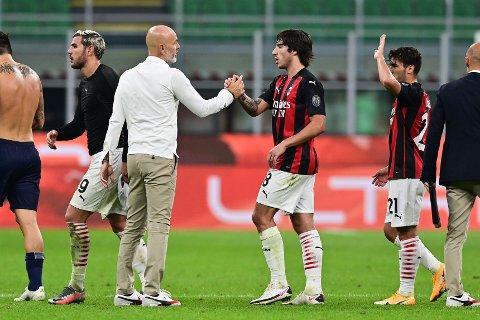 SPÅS EN STOR FRAMTID: Unggutten Sandro Tonali beskrives som en blanding av Andrea Pirlo og Gennaro Gattuso.