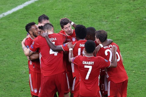 NY TITTEL: Bayern München sikret seieren i UEFA Supercup torsdag kveld.