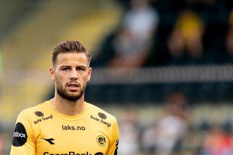 BLE HJEMME: Philip Zinckernagel tar ikke del i Bodø/Glimts bortemøte med Molde lørdag.