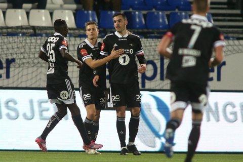 SCORET: Dino Islamovic satte inn sitt niende mål i Eliteserien for sesongen.