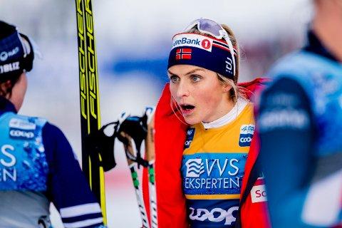 USIKKERT: Det er foreløpig ikke klart om Therese Johaug og de andre langrennsstjernene får kjempe om verdenscuppoeng på Lillehammer denne sesongen.