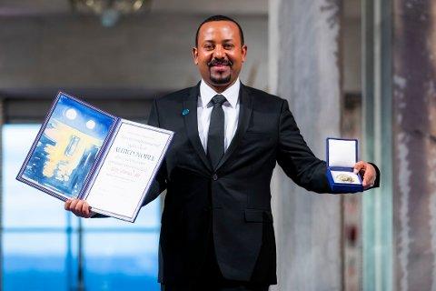 Etiopias statsminister Abiy Ahmed, som ble belønnet med Nobels fredspris i fjor, har gått til krig mot opprørere i Tigray-regionen