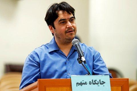 Journalisten Ruhollah Zam ble dømt til døden av en iransk domstol. Lørdag ble han henrettet.
