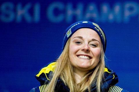 INGEN GNIST: Etter Stina Nilsson la om idrett til skiskyting sier 27-åringen at all gnist for langrenn er borte.