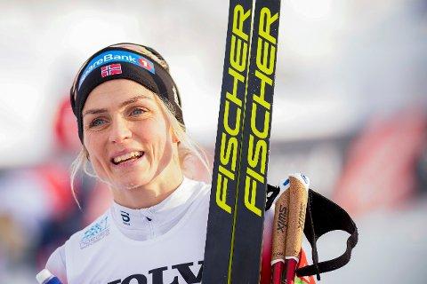 BRYTER MED HUAWEI: Therese Johaug.