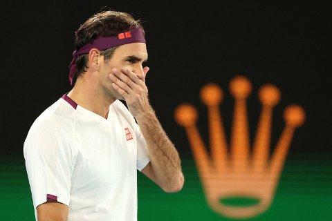 FRAVÆRENDE: Superstjernen Roger Federer mister Australian Open, for første gang i karrieren. Her avbildet under tilsvarende turnering i fjor.
