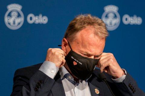 TREFFER TILTAKENE? Oslos byrådsleder Raymond Johansen har ennå ikke lykkes i å få smitten på Stovner og Søndre Nordstrand ned på nivået til resten av byen.