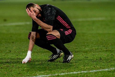 Karim Benzema må i retten i forbindelse med sexvideo-skandalen som rystet fransk fotball i 2015. Foto: Jose Breton / AP / NTB