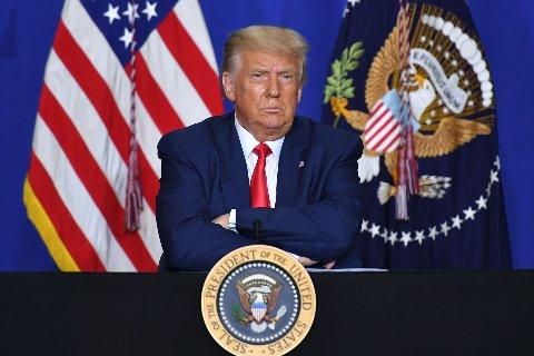 HISTORISK: Donald Trump har bare en snau uke igjen før han må forlate Det hvite hus. Han er det eneste amerikanske presidenten som noensinne er blitt stil for riksrett to ganger.