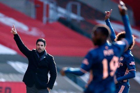 LANGT TIL TOPPEN: Arsenal og manager Mikel Arteta får ikke noe plaster på såret for en ny vanskelig sesong i FA-cupen.