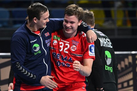 KVARTFINALE: Det blir kvartfinale på de norske herrene etter Frankrikes seier mot Portugal.