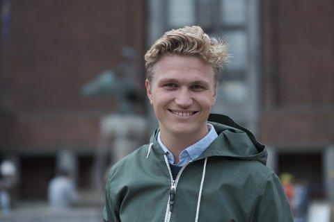 DIKTER OPP: Samferdselspolitisk talsmann Nicolai Langfeldt i Oslo Høyre mener Frp har diktet opp at Høyre foreslår nullutslippssone innenfor Ring 2.