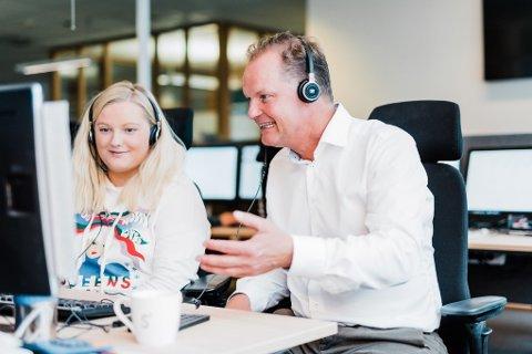 FONDSREKORD: Sbanken og Øyvind Thomassen kan glede seg over oppsiktsvekkende markedsandeler for fondssparingen i fjor.