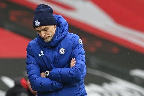 Thomas Tuchel er ubeseiret i syv kamper etter at han tok over som manager i Chelsea, men tirsdag tror vi at han får problemer mot Diego Simeone og Atletico Madrid. Her fortviler Tuchel etter 1-1 mot Southampton i helgen.