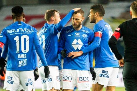 I SPANIA: Molde spiller borte mot spanske Granada.