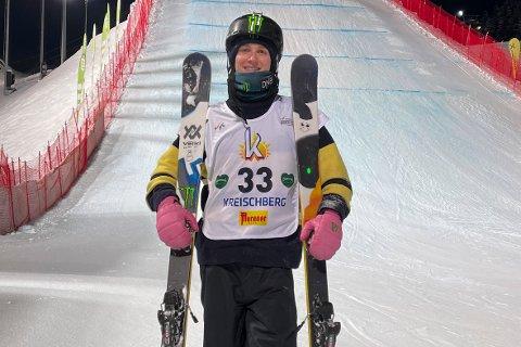 Birk Ruud er klar for VM-finale i slopestyle lørdag. Foto: Norges Skiforbund / NTB