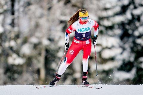Vilde Nilsen blir et stort norsk håp i neste års Paralympics i Beijing. Foto: Ole Martin Wold / NTB.