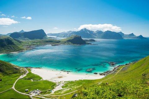 Hauklandstranda er kåret til Europas beste strand.