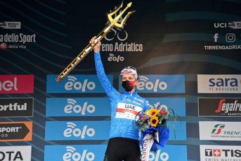 Tadej Pogacar har vist storform så langt i sesongen. Foto: Gian Mattia D'Alberto / LaPresse via AP / NTB
