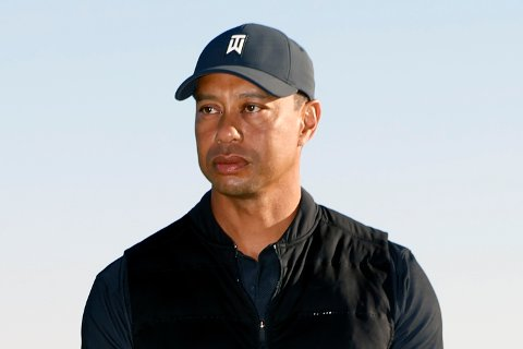 Tiger Woods kjørte i over 135 km/t da han krasjet i februar. Foto: Ryan Kang, File / AP / NTB