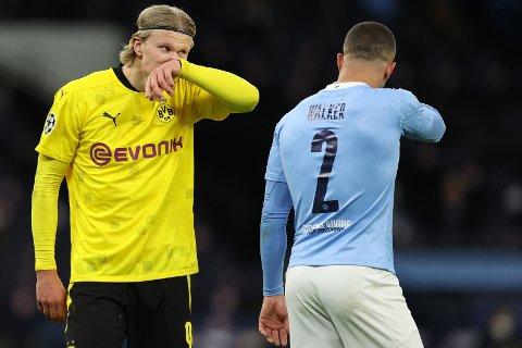 TRENGER MÅL: Borussia Dortmund skaffet seg et brukbart utgangspunkt med 1-2-tap i Manchester forrige uke. Onsdag må Erling Braut Haaland og co vinne.