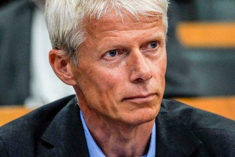 Nav-direktør Hans Christian Holte forteller at ikke siden ytelsen AAP ble innført i 2010, har Nav registrert flere nye mottakere i løpet av ett enkelt kvartal som det siste. Foto: Lise Åserud / NTB
