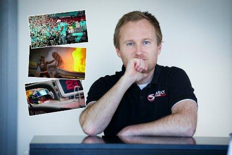 MERKER FORSKJELL: Atle Gulbrandsen har kommentert Formel 1 i en årrekke.