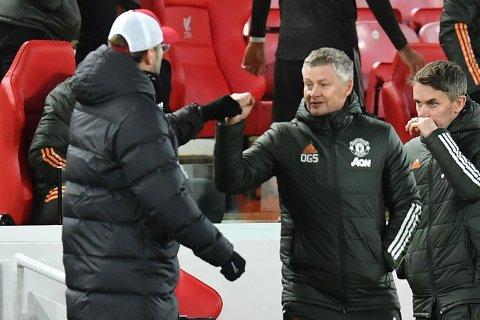SUPERLIGA: Jürgen Klopps Liverpool og Ole Gunnar Solskjærs Manchester United er to av klubbene i den nye superligaen.