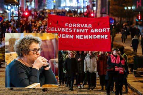 UKE 22: KrF reagerer når et fjerde parti på noen uker går inn for å utvide kvinners abortrettigheter. Her fra en markering av den internasjonale kvinnedagen i 2019. Foto: Håkon Mosvold Larsen / NTB