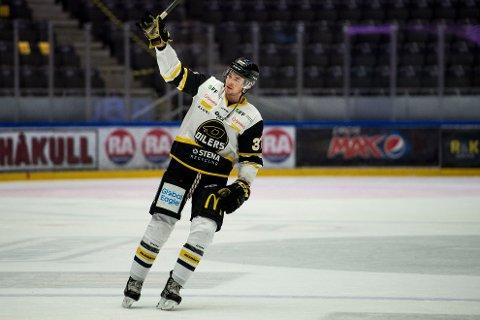 Stavanger Oilers og Markus VIkingstad endte opp med bronse i årets koronasesong. Foto: Carina Johansen / NTB
