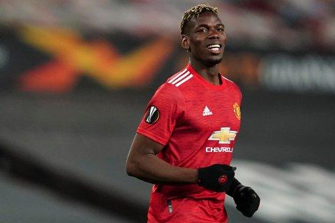 HVA SKJER? Paul Pogba har fortsatt til gode å forlenge kontrakten sin med Manchester United.