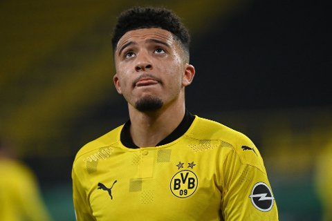 ETTERTRAKTET: Jadon Sancho skal kunne forlate Dortmund under visse forutsetninger.