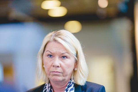 Justisminister Monica Mæland (H). Foto: Stian Lysberg Solum / NTB