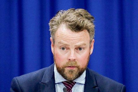 Arbeids- og sosialminister Torbjørn Røe Isaksen (H).