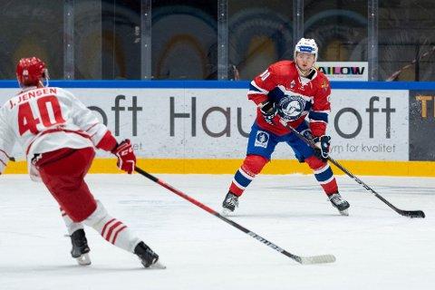 Mathias Emilio Pettersen blir en viktig spiller for Norge under VM i Latvia. Foto: Fredrik Hagen / Norges Ishockeyforbund / NTB.