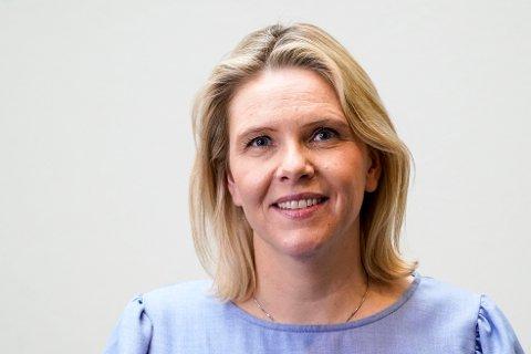 – Alle eldre har rett på trygg omsorg sier Frp-leder Sylvi Listhaug som fremmet forslaget om meldeplikt. Foto: Lise Åserud / NTB
