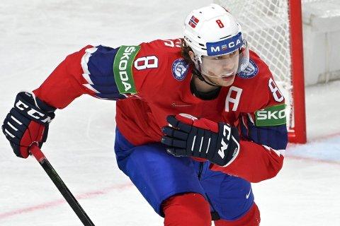 Mathias Trettenes scoret tre av målene i seieren over Italia søndag. Foto: Jussi Nukari / NTB