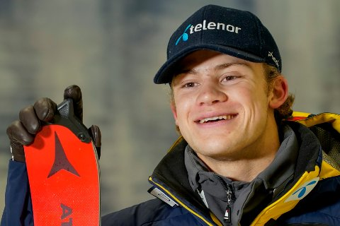 Alpinist Lucas Braathen skal holde to helger med en alpincamp i Lørenskog. Foto: Gorm Kallestad / NTB