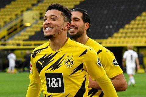 TIL UNITED? Jadon Sancho hevdes å kunne gå for 26,5 millioner pund mindre enn det Dortmund skal ha ønsket seg i fjor.