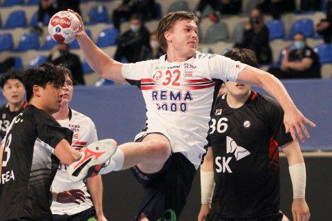 Thomas Solstad er klar for dansk håndball. Foto: Aleksandar Djorovic / NTB