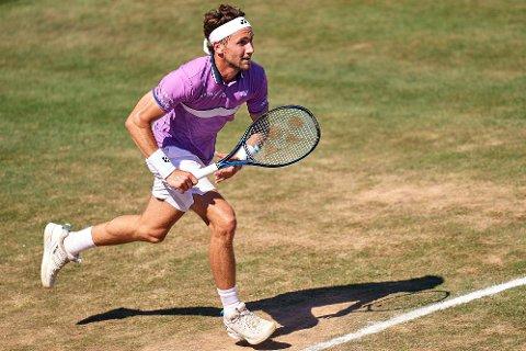 AUSTRALSK MOTSTAND: Casper Ruud møter Jordan Thompson i første runde i Wimbledon.