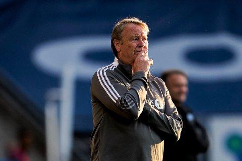UNDER PRESS: Åge Hareide og Rosenborg trenger en seier mot Haugesund.