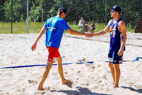 Anders Mol og Christian Sørum er to av de største medaljehåpene til Norge under Tokyo-OL. Foto: Terje Pedersen / NTB