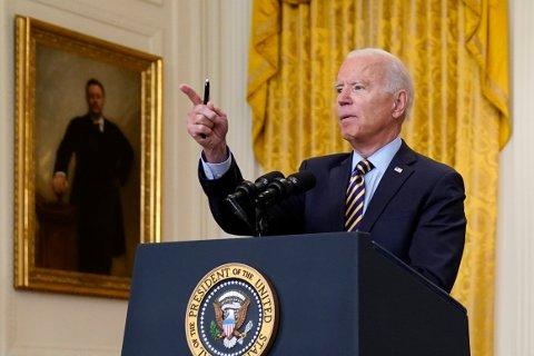 USA invaderte ikke Afghanistan for å drive nasjonsbygging, sier president Joe Biden. Foto: AP / NTB