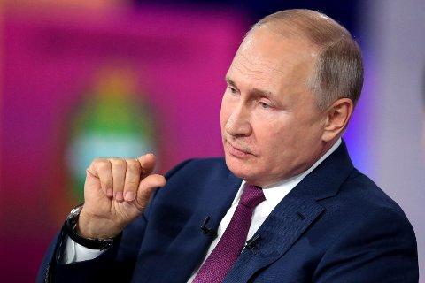 38 prosent av alle nordmenn tror Vladimir Putin er verdenslederen som utgjør den største trusselen mot verdensfreden.