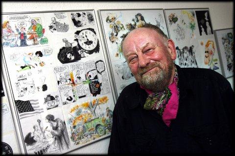 Den danske avistegneren Kurt Westergaard er død. Foto: Preben Hupfeld / SCANPIX DANMARK / NTB