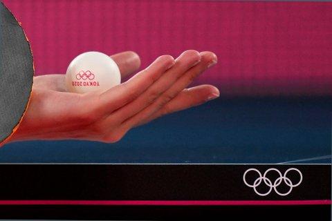 OLs yngste utøver skal spille i bordtennisturneringen i Tokyo Foto: Kin Cheung, AP / NTB