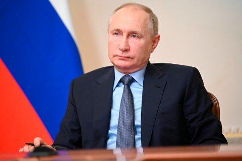 Russlands president Vladimir Putin. Foto: Sputnik / Pool / AP / NTB