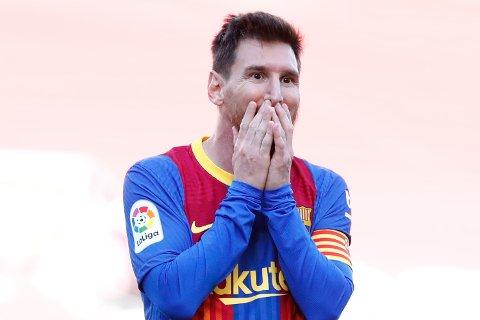 INGEN NY KONTRAKT: Barcelona bekreftet torsdag kveld at Lionel Messi ikke fortsetter i klubben.